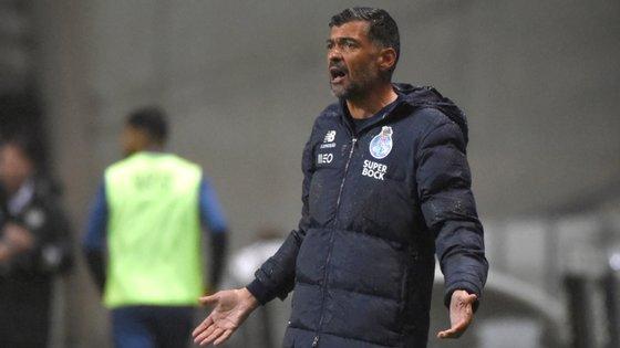 O treinador dos dragões reconheceu que o FC Porto deveria ter inaugurado o marcador ainda na primeira parte