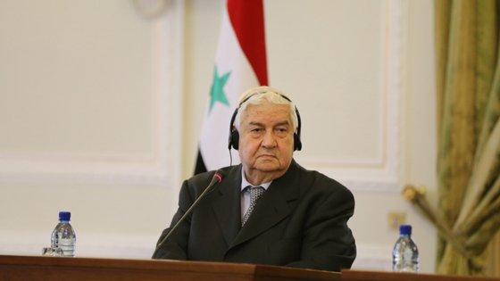Walid Muallem é ministro dos Negócios Estrangeiros da Síria desde fevereiro de 2006
