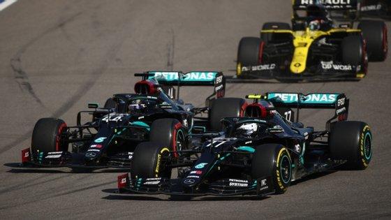 Valtteri Bottas ganhou a corrida depois de ter saído de terceiro na grelha de partida