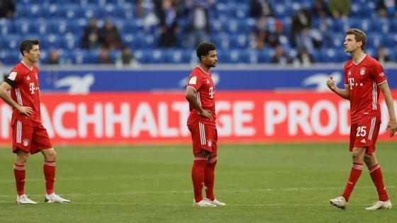 A equipa de Munique só marcou um golo de honra, por intermédio de Kimmich