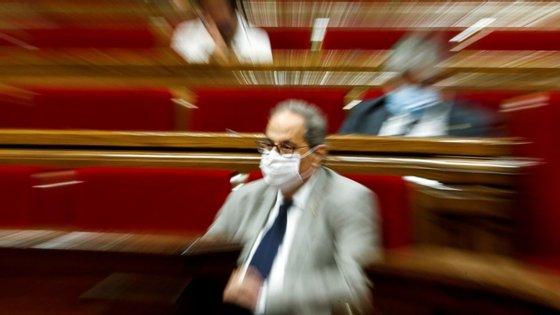 Quim Torra, presidente do governo regional da Catalunha, foi afastado das suas funções esta segunda-feira manhã