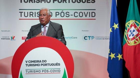 António Costa na conferência da Confederação do Turismo de Portugal (CTP)