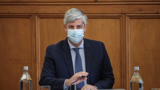Mário Centeno foi nomeado governador do Banco de Portugal pelo atual Governo no dia 16 de julho