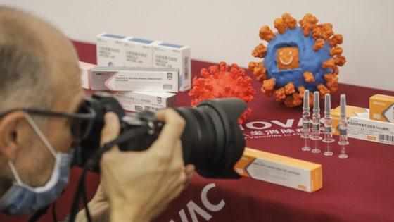 Desde o início da pandemia, a China registou 85.332 infetados