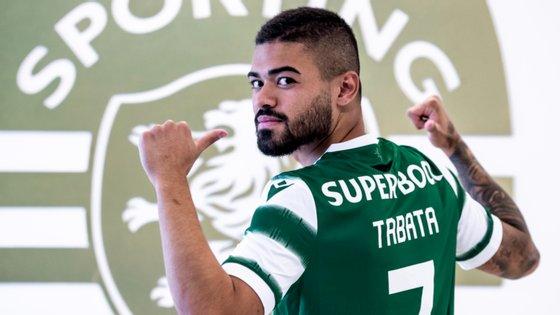 """Bruno Tabata deve ficar com a camisola 7 em Alvalade, um número maldito numa """"tradição"""" que remonta desde a saída de Figo em 1995"""