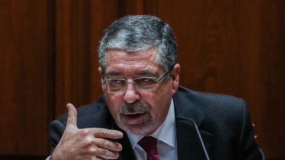 Manuel Machado foi ouvido esta tarde na Assembleia da República pela Comissão de Economia, Inovação, Obras Públicas e Habitação