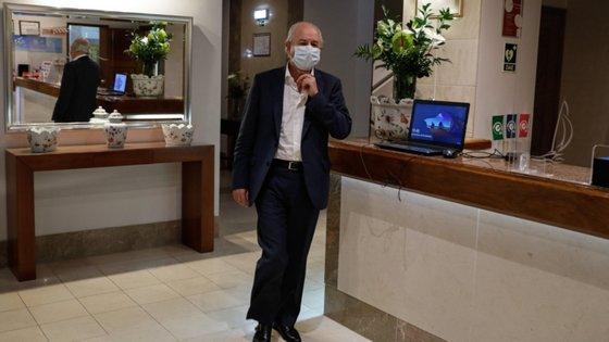 """""""Temos consciência clara que, desde março, o SNS está totalmente focado na Covid"""", diz Rio."""