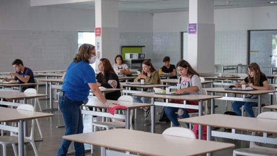 As aulas começaram entre os dias 14 e 17 de setembro