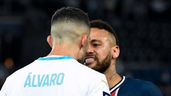 Conflito aconteceu a 13 de setembro, já nos descontos do encontro da terceira jornada da liga francesa