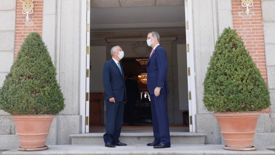 O último encontro com Filipe VI foi a 21 de Julho, a convite do rei, em Madrid. Antes disso, a 1 de Julho, Marcelo esteve em Badajoz, nas cerimónias de reabertura da fronteira entre Portugal e Espanha