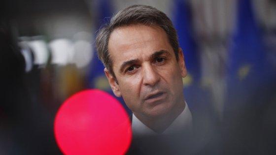 Kyriakos Mitsotakis tem pedido o envolvimento da União Europeia na resolução desta disputa no Mediterrâneo oriental