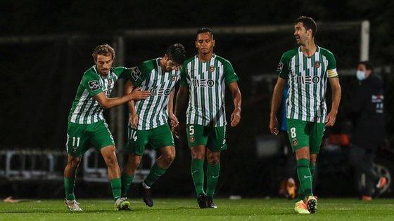 Francisco Geraldes empatou a partida ainda na segunda parte e desperdiçou a oportunidade de selar o apuramento nas grandes penalidades