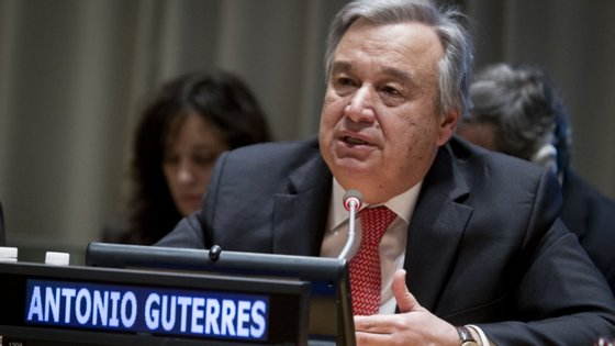 """""""Infelizmente, os progressos no sentido da eliminação total das armas nucleares estagnaram e correm o risco de estarem comprometidos"""", diz António Guterres."""
