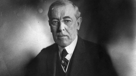 O Presidente Woodrow Wilson apanhou gripe espanhola