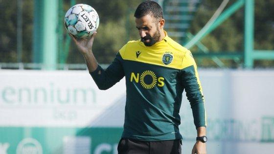 Rúben Amorim esteve recentemente doente com Covid-19.