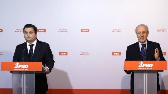 """Joaquim Miranda Sarmento e Rui Rio apresentaram o """"Programa Estratégico e dos Fundos Europeus"""""""