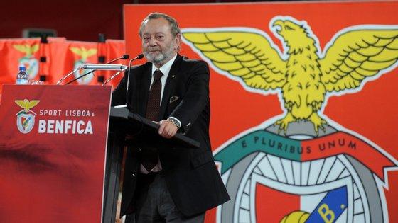 Manuel Vilarinho teve Vieira na SAD e Noronha Lopes como vice do clube enquanto era presidente do Benfica, no mandato entre 2000 e 2003