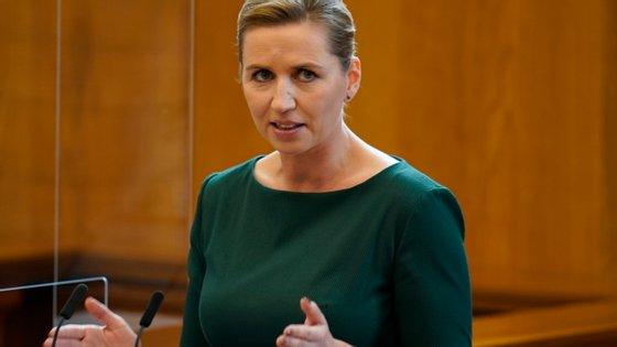 """A primeira ministra, Mette Frederiksen, pediu mudanças: """"Precisamos de fazer alguma coisa em relação a isso. E vamos começar agora"""""""
