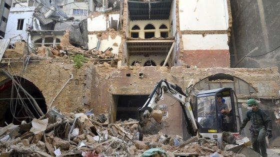 O executivo libanês mantém em cerca de 6.500 o total de pessoas feridas pela explosão de 4 de agosto