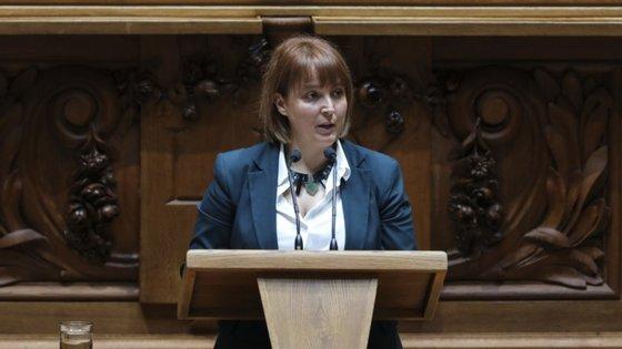 """A parlamentar ecologista sublinha que """"não se trata das ações de desbaste que o Governo referiu como necessárias, mas sim de ações de corte raso"""""""