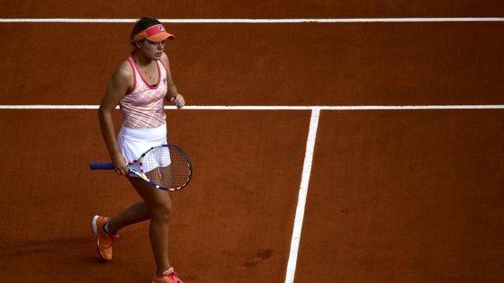 A tenista norte-americana, de 21 anos, vai discutir o acesso à final do Grand Slam parisiense