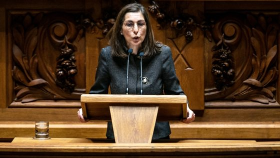 Ana Catarina Mendes esteve esta quarta-feira ausente do primeiro debate sobre política geral com a presença do primeiro-ministro