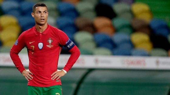 O capitão da Seleção Nacional saiu já na segunda parte, numa substituição a pensar nos dois próximos jogos da Liga das Nações
