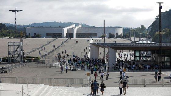 As peregrinações de maio e de outubro são as que costumam reunir maior número de peregrinos no santuário