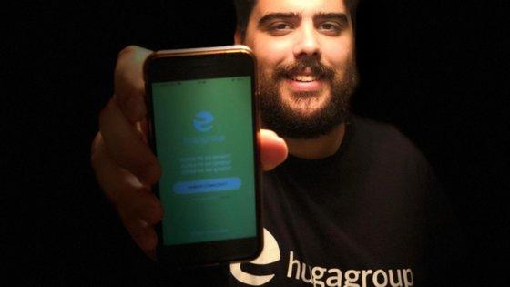 Pedro Marques, de 26 anos, fundou a Hug-a-Group