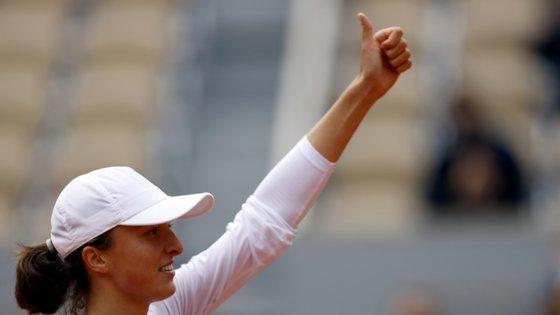 A tenista vai enfrentar a vencedora do duelo entre Sofia Kenin e Petra Kvitova