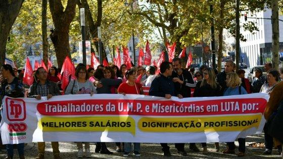 Estes trabalhadores saem ainda a perder na comparação com outros de categoria equivalente que trabalham em instituições particulares de solidariedade social