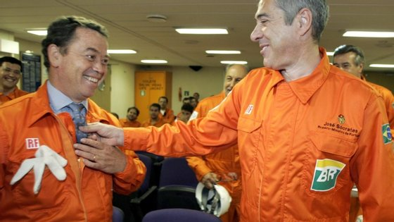 António Castro Guerra foi escolhido por Manuel Pinho (à esquerda) para seu secretário de estado no Governo de Sócrates (à direita)