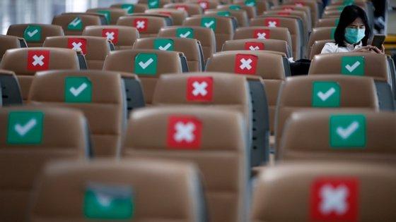 Os dados da IATA estão em linha com os baixos valores relatados num estudo publicado recentemente no Journal of Travel Medicine