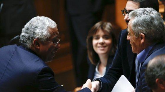Costa tem negociado com a esquerda desde 2015, quando existiam posições conjuntas para a governação.