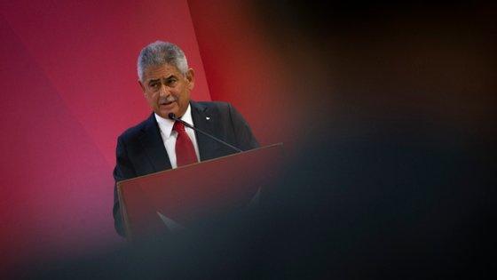 Luís Filipe Vieira concorre a um sexta mandato à presidência do Benfica, que garante ser o último na Luz