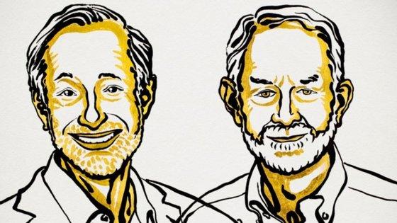 Os norte-americanos Paul Milgrom e Robert Wilson.
