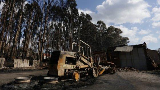 No dia 14 de outubro de 2017, as chamas deflagraram nas freguesias vizinhas de Longos Vales e Merufe