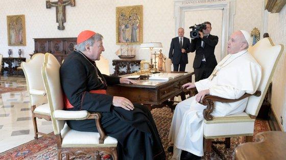 O cardeal australiano acabou absolvido de todas as acusações, por unanimidade, pelo coletivo de sete juízes