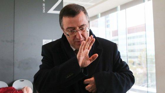 O juiz Carlos Alexandre nega relação conflituosa com a família de Lalanda e Castro em Mação