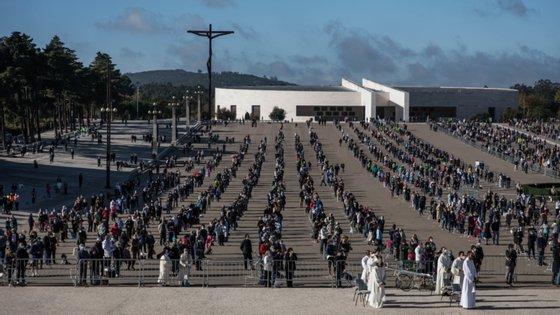 A lotação do Santuário de Fátima foi reduzida para 6 mil peregrinos