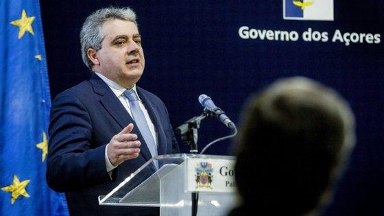 O Governo da República vai apoiar em 85% as despesas do furacão Lorenzo
