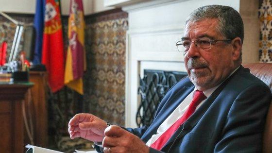 Manuel Machado, o presidente da Associação Nacional de Municípios Portugueses, também é presidente da Câmara de Coimbra