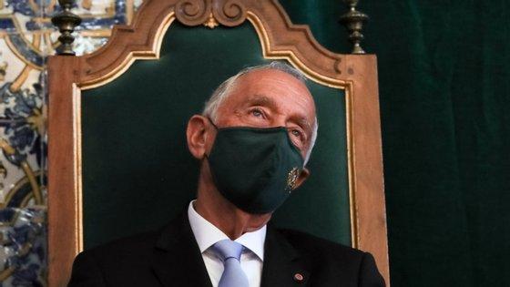 Durante o discurso, vincou a necessidade de os fundos europeus para dar resposta à crise económica e social provocada pela pandemia de Covid-19
