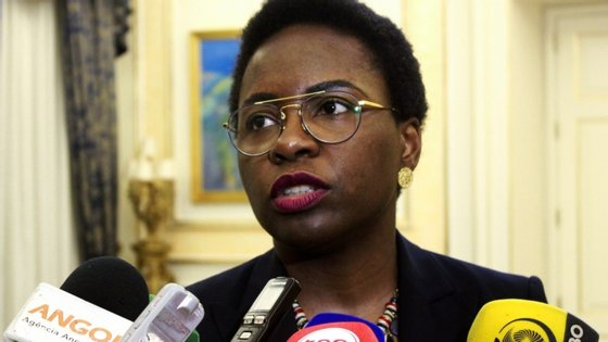 Ministra das Finanças angolana, Vera Daves.