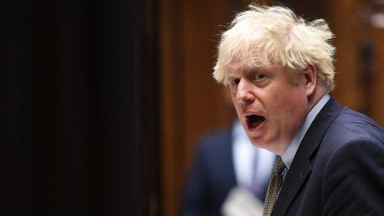 """Boris Johnson ficou satisfeito com o desejo de um acordo, """"mas dececionado ao ver que não houve avanços após duas semanas de negociações"""""""