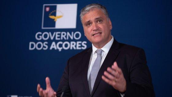 Vasco Cordeiro é chefe do Governo dos Açores desde 2012 e candidato a um novo mandato