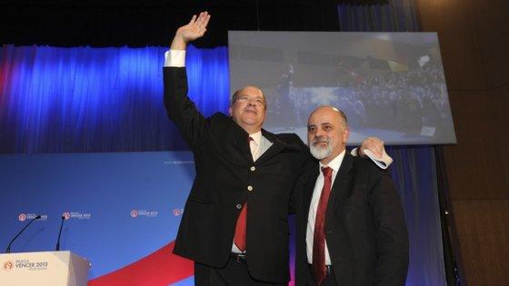 Vítor Sousa foi vice-presidente de Mesquita Machado na Câmara Municipal de Braga. Em 2013 concorreu à autarquia, mais uma vez pelo PS, mas foi derrotado