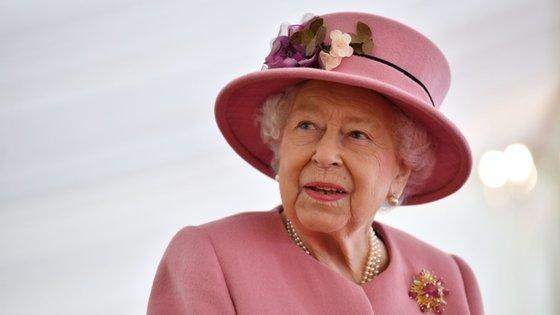 Até agora, a rainha tinha participado apenas em eventos virtuais através de videochamada