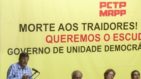 """Pedro Leite Pacheco lembrou ainda que o país e o mundo """"estão a entrar numa crise dramática"""", onde as pessoas deixaram de """"discutir as coisas"""""""