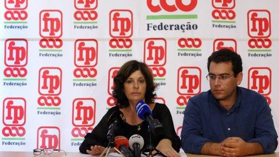 O sindicalista salientou ainda que não estão a ser asseguradas aos trabalhadores as condições necessárias para o desempenho das suas funções em plena pandemia da Covid-19